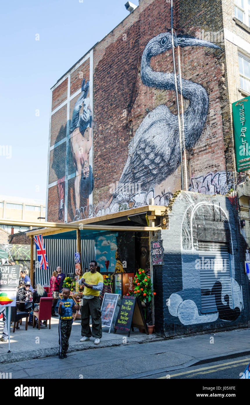 Brick Wall Art Stockfotos & Brick Wall Art Bilder - Alamy