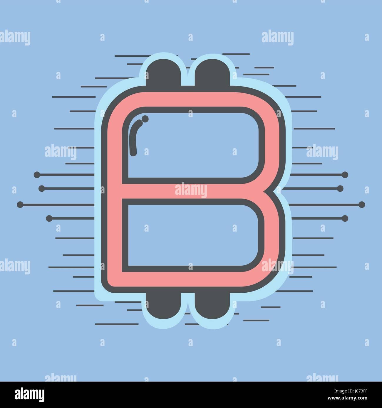 Color Symbol Icon Circuit Bitcoin Stockfotos & Color Symbol Icon ...