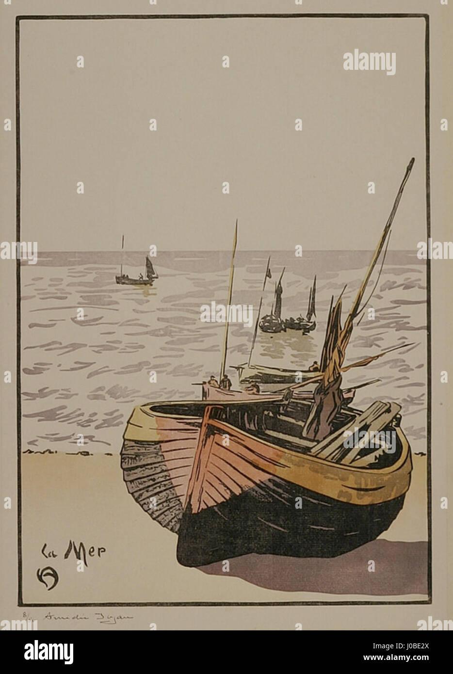 Amédée Joyau La Mer Stockfoto