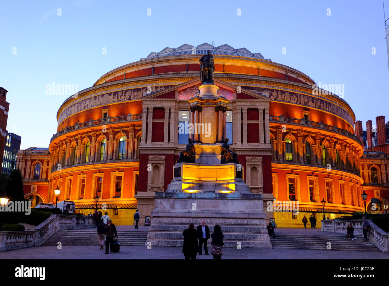 Royal Albert Hall, Kensington, London, England, Vereinigtes Königreich Stockbild