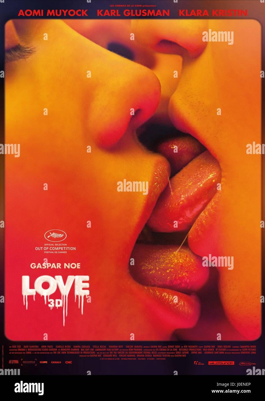 Film Poster Liebe 2015 Stockfoto Bild 138007150 Alamy