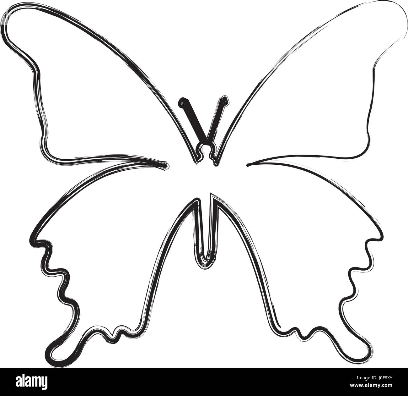 Ziemlich Süße Schmetterling Malvorlagen Galerie - Malvorlagen Von ...