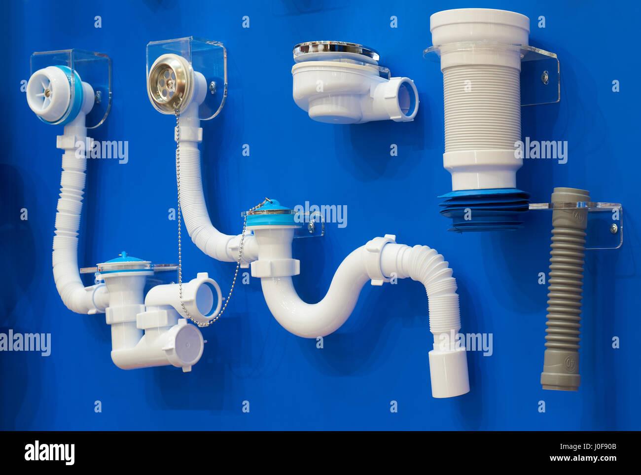 Gut gemocht Kunststoff-Sanitär, Rohre und Formstücke für Kanalisation auf der MO08