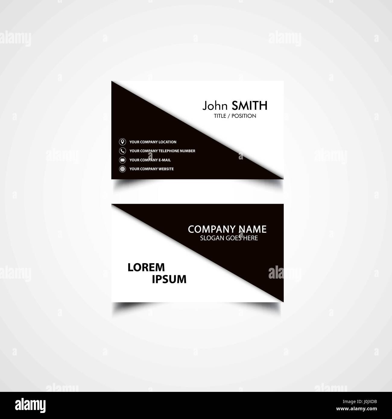 Großzügig Seiten Visitenkartenvorlage Ideen - Entry Level Resume ...