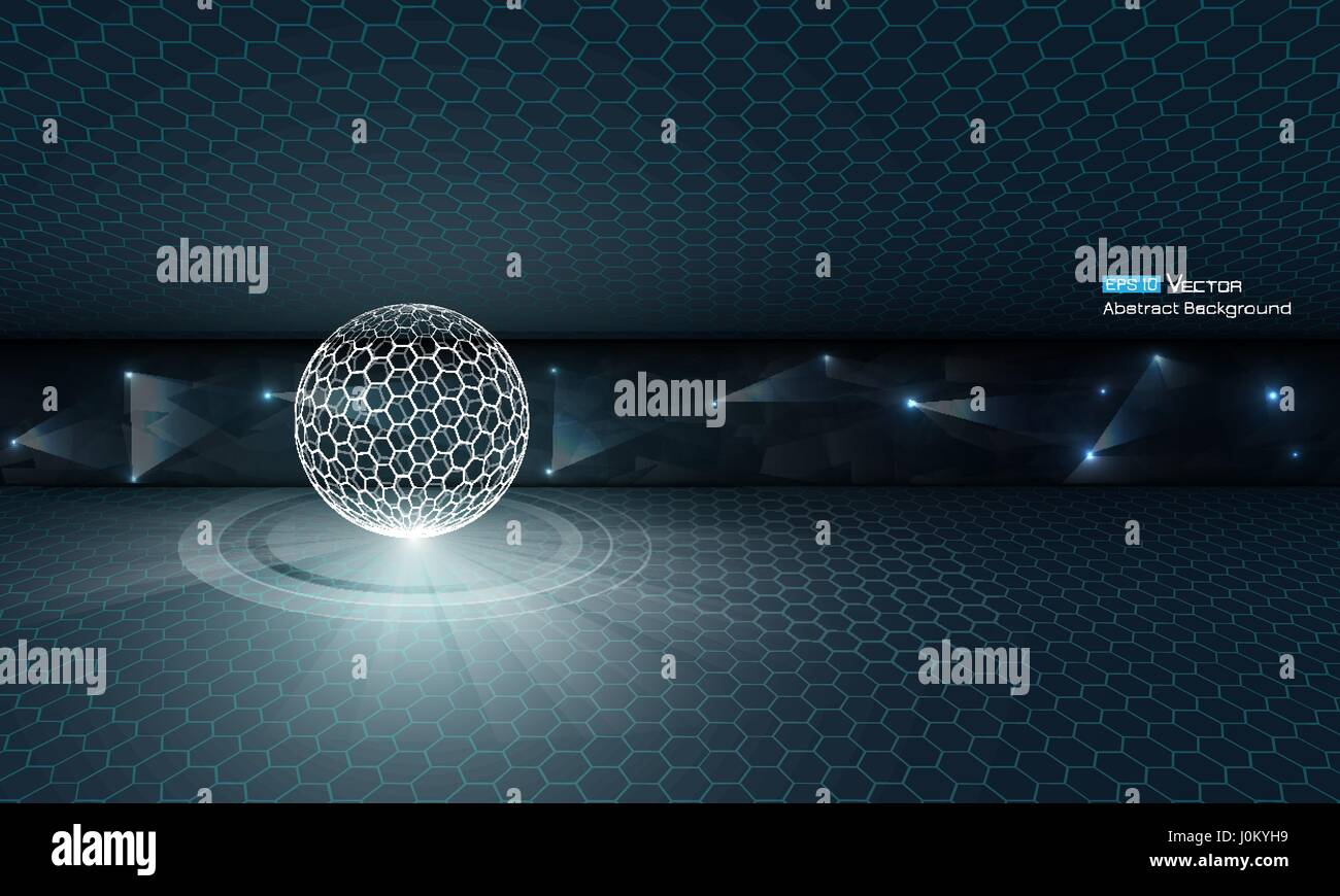 Hexagon Triangle Stockfotos & Hexagon Triangle Bilder - Alamy