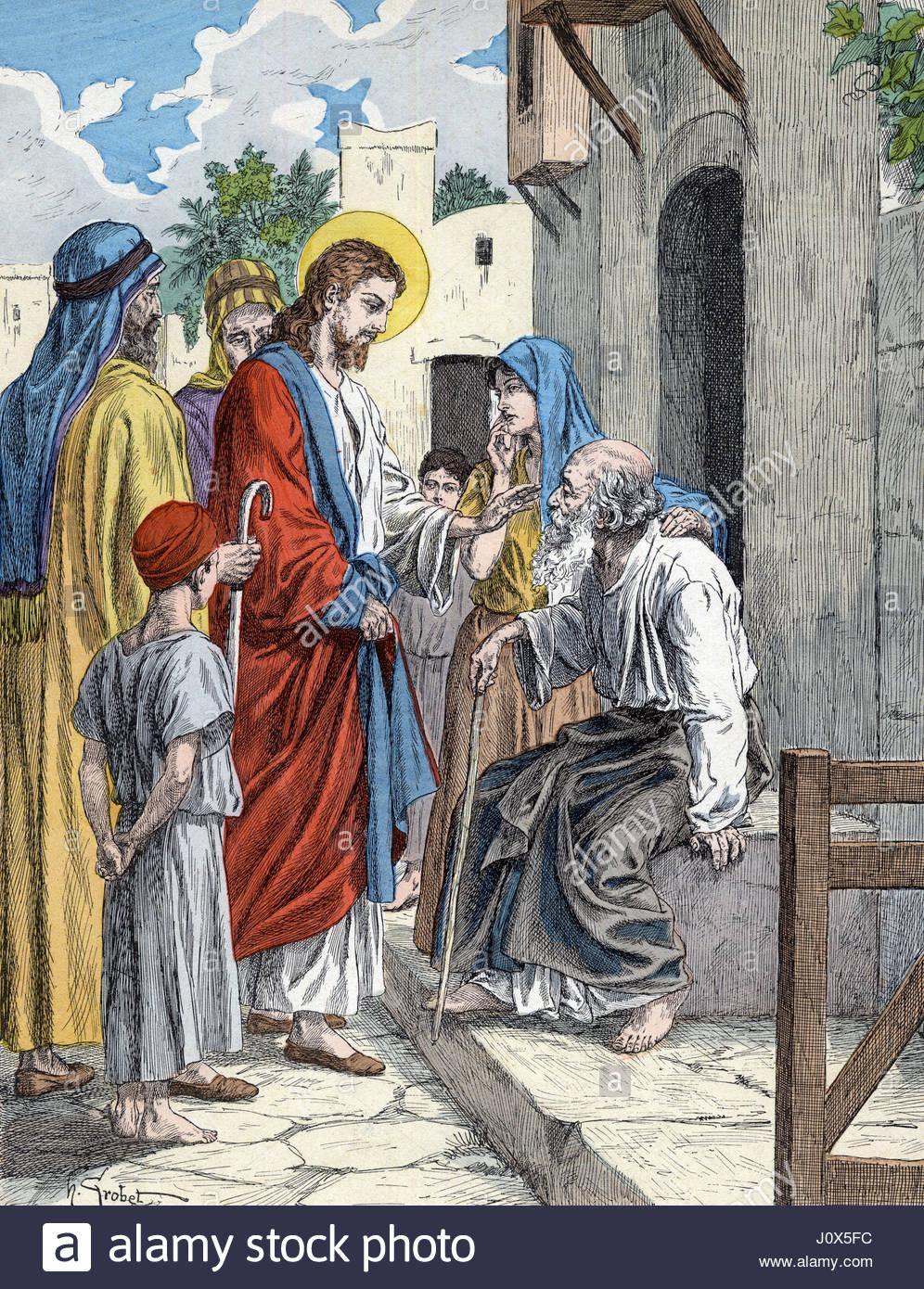 Ungewöhnlich Malvorlagen Von Jesus Heilen Die Kranken Fotos ...