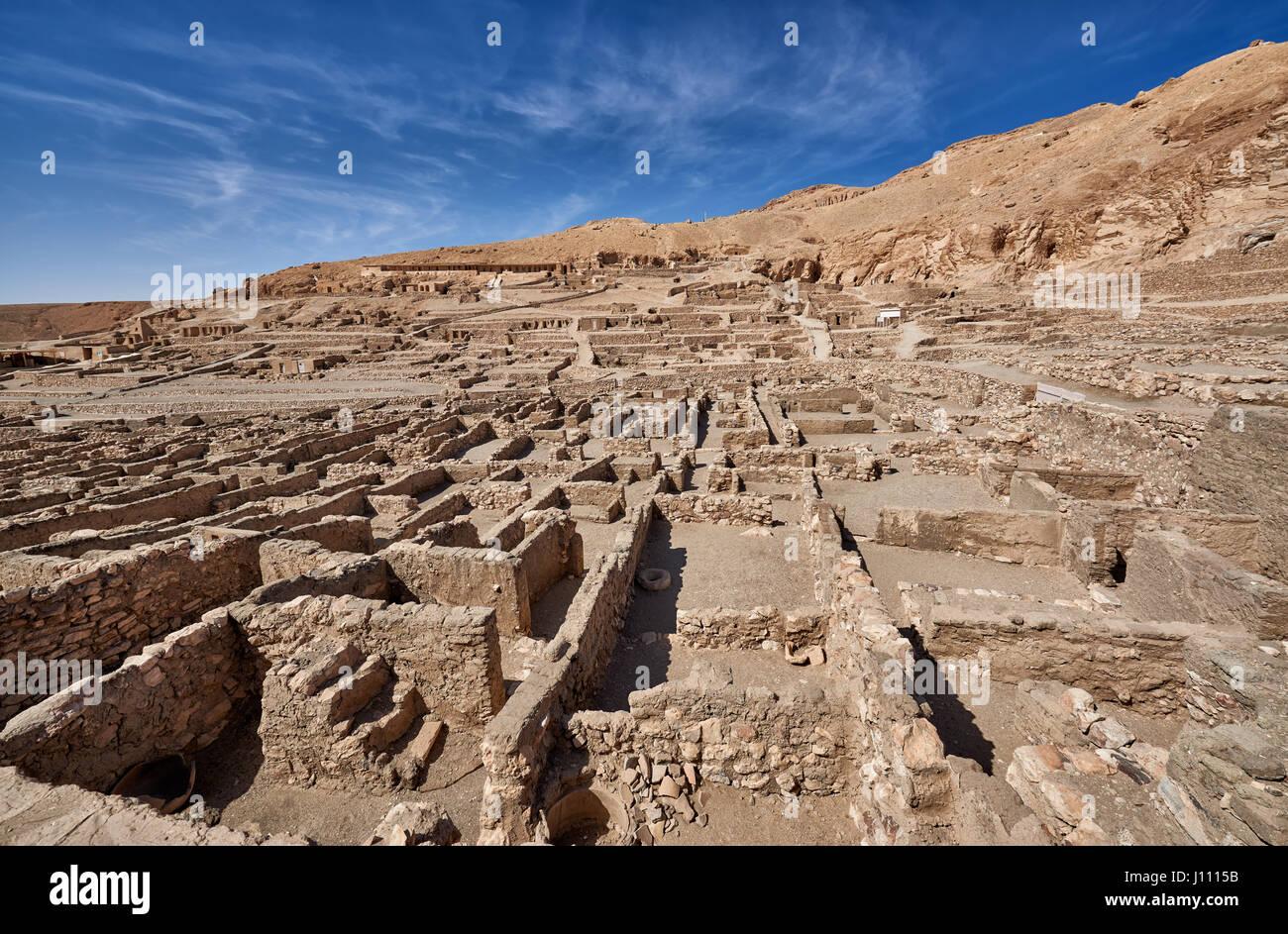 Die Handwerker deir el medina altes ägyptische dorf war heimat für die handwerker