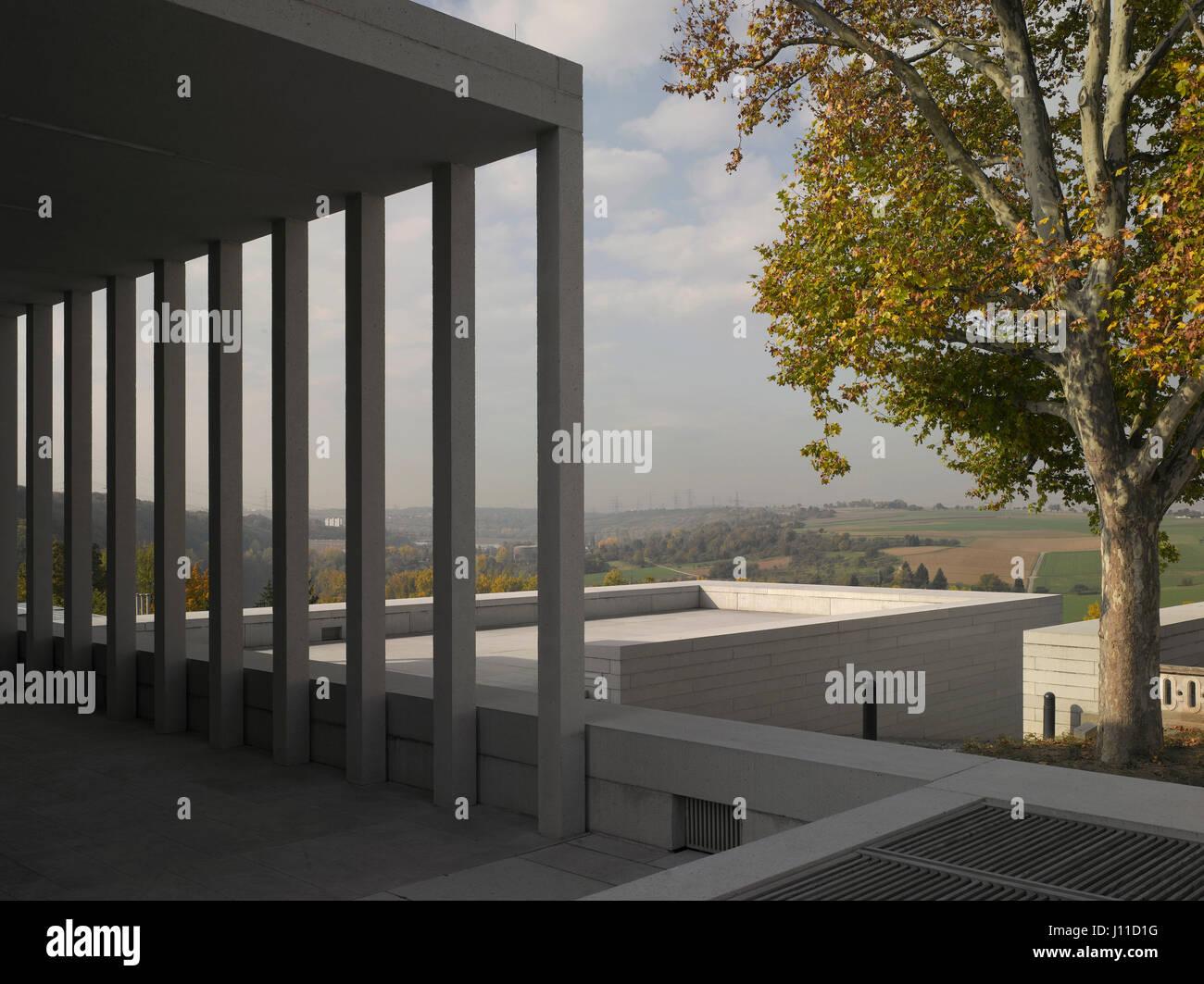 Erhohten Blick Aus Literatur Und Schiller Museum Uber Tal