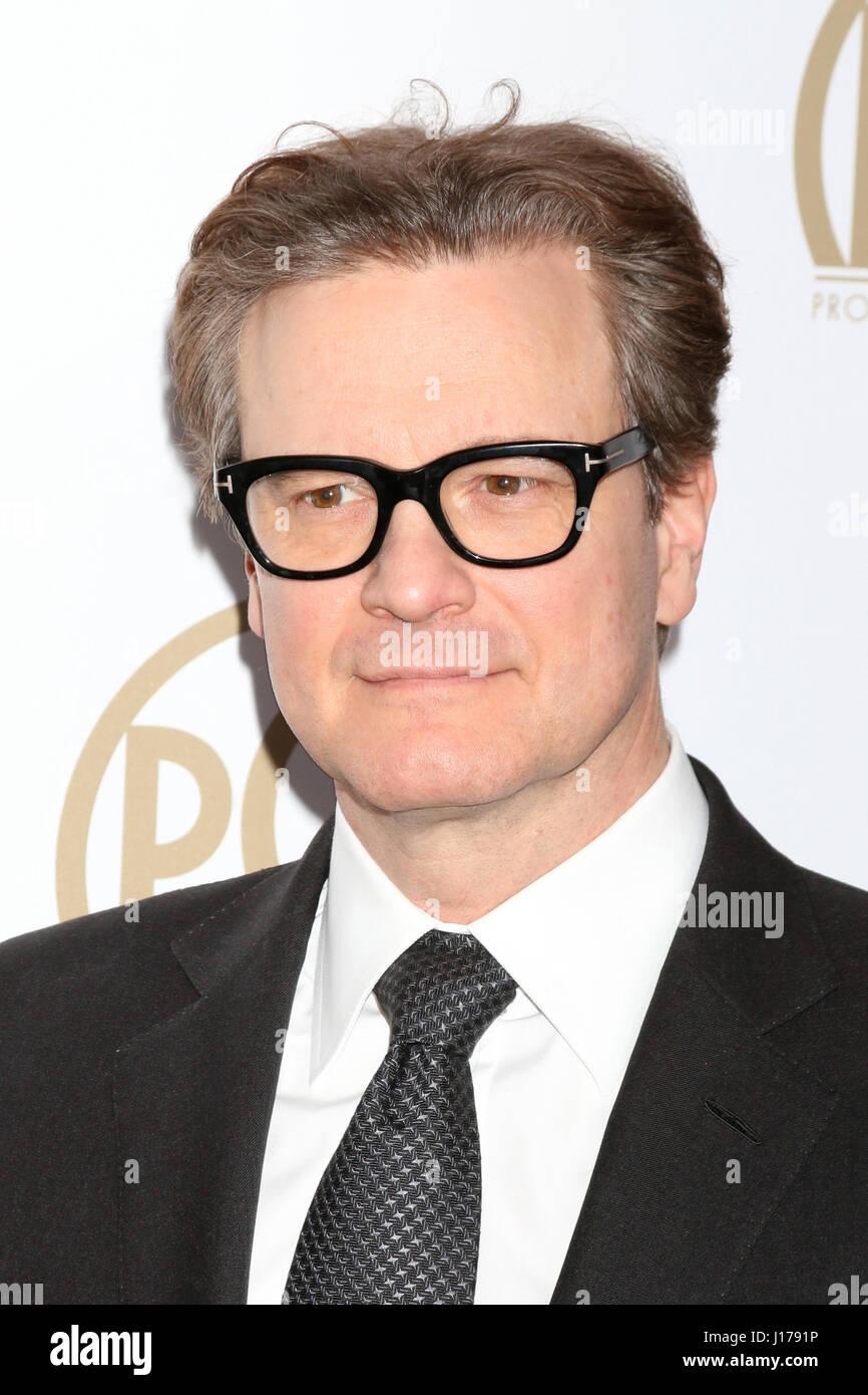 Beverly Hills, CA, USA. 28. Januar 2017. LOS ANGELES - 28 JAN: Colin Firth bei der 2017 Producers Guild Awards im Stockbild