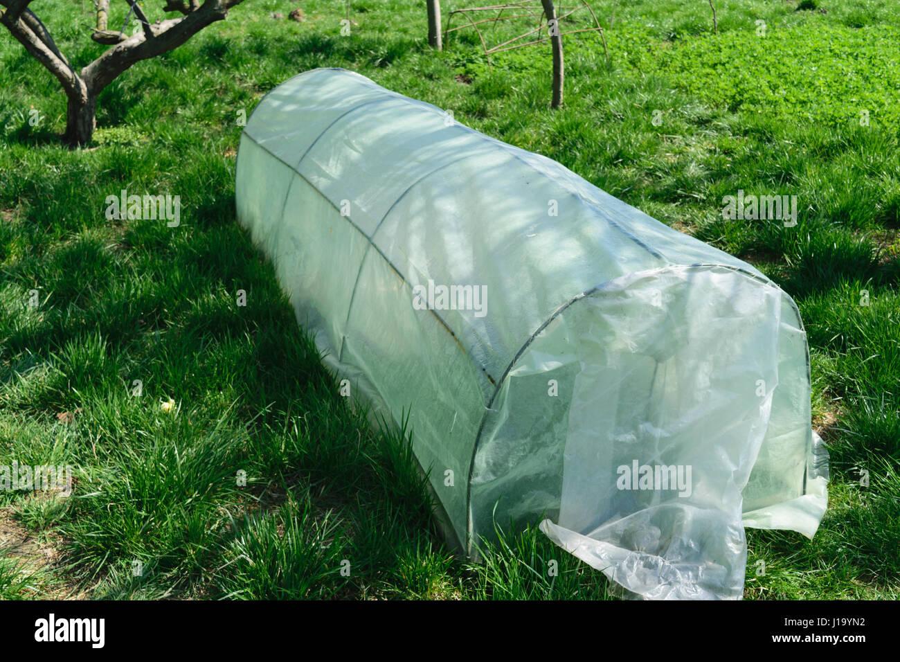 Kleines Gewachshaus Diy Landschaft Stockfoto Bild 138516926 Alamy