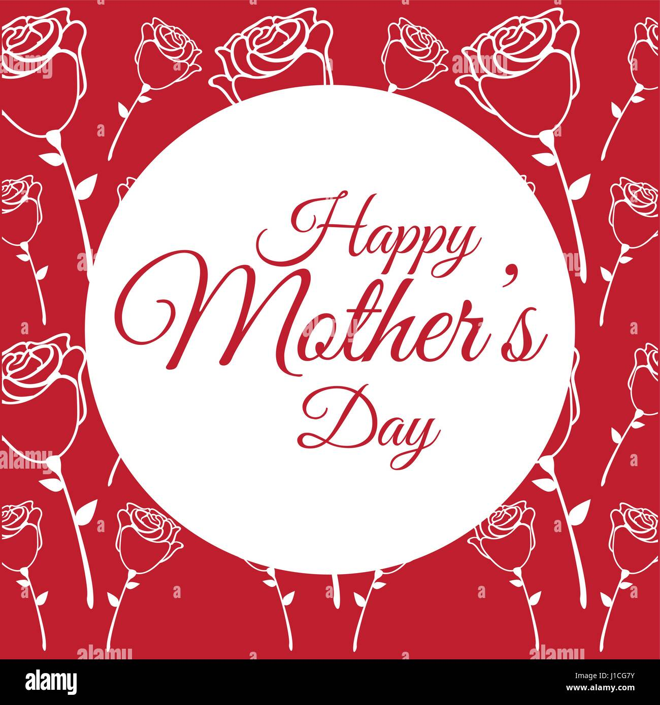 Mothers Day Card Roses Stockfotos & Mothers Day Card Roses Bilder ...