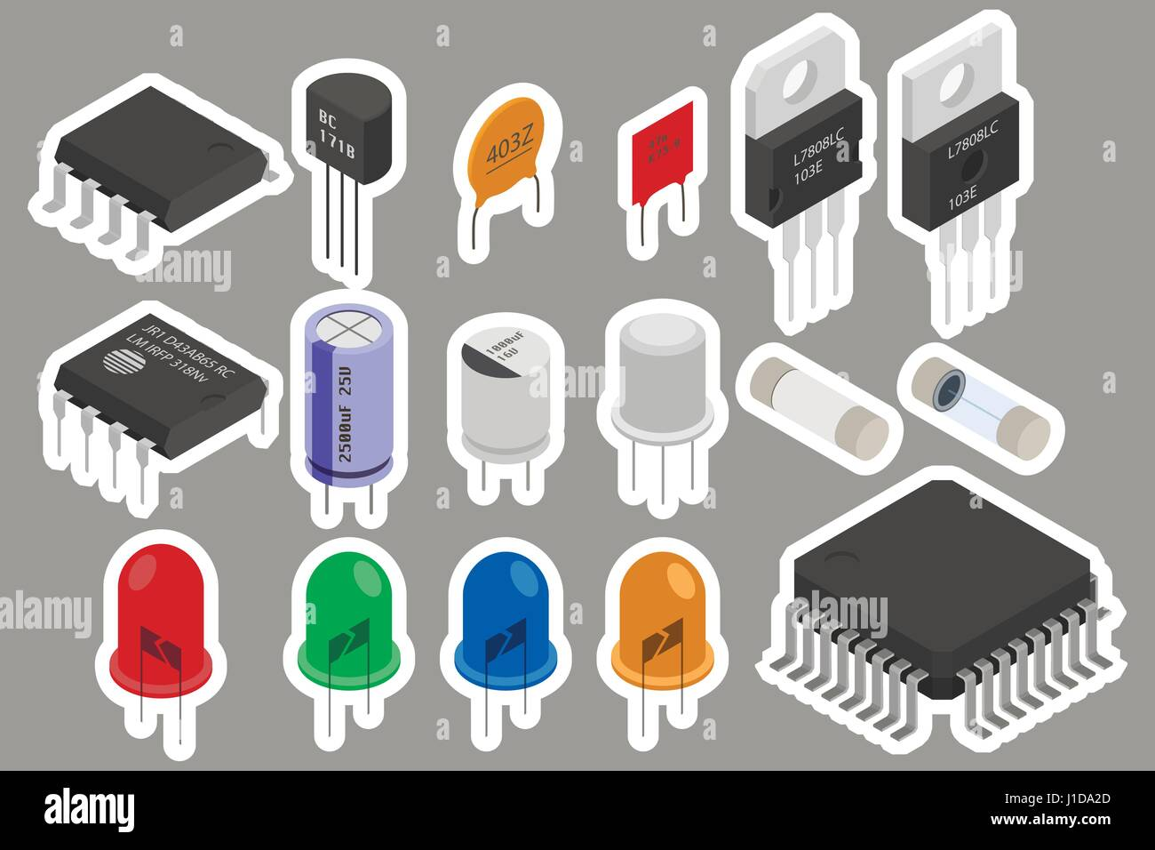 Beste Symbol Für Elektronische Komponenten Zeitgenössisch - Der ...