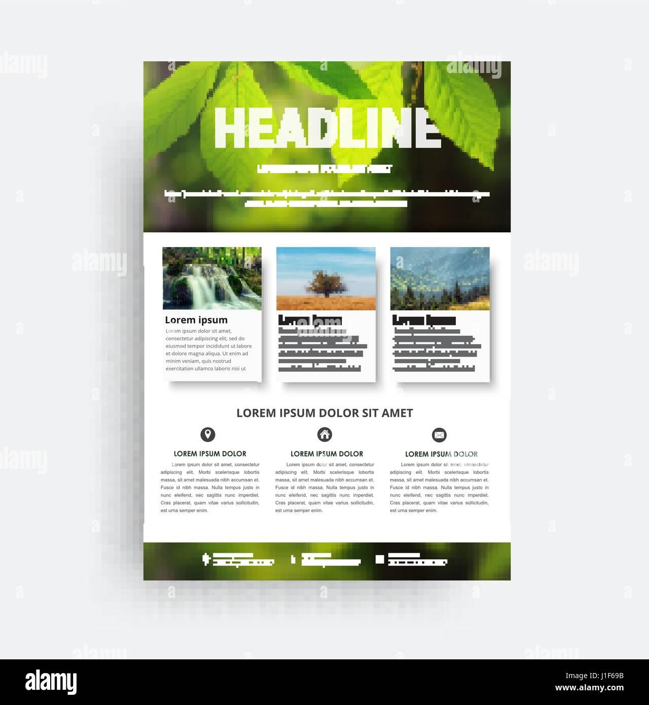 Berühmt Probe Marketing Broschüre Fotos - Bilder für das Lebenslauf ...