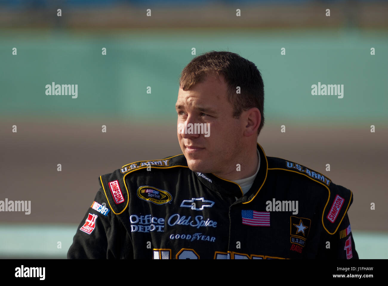 NASCAR Racing Motorsport Stockbild