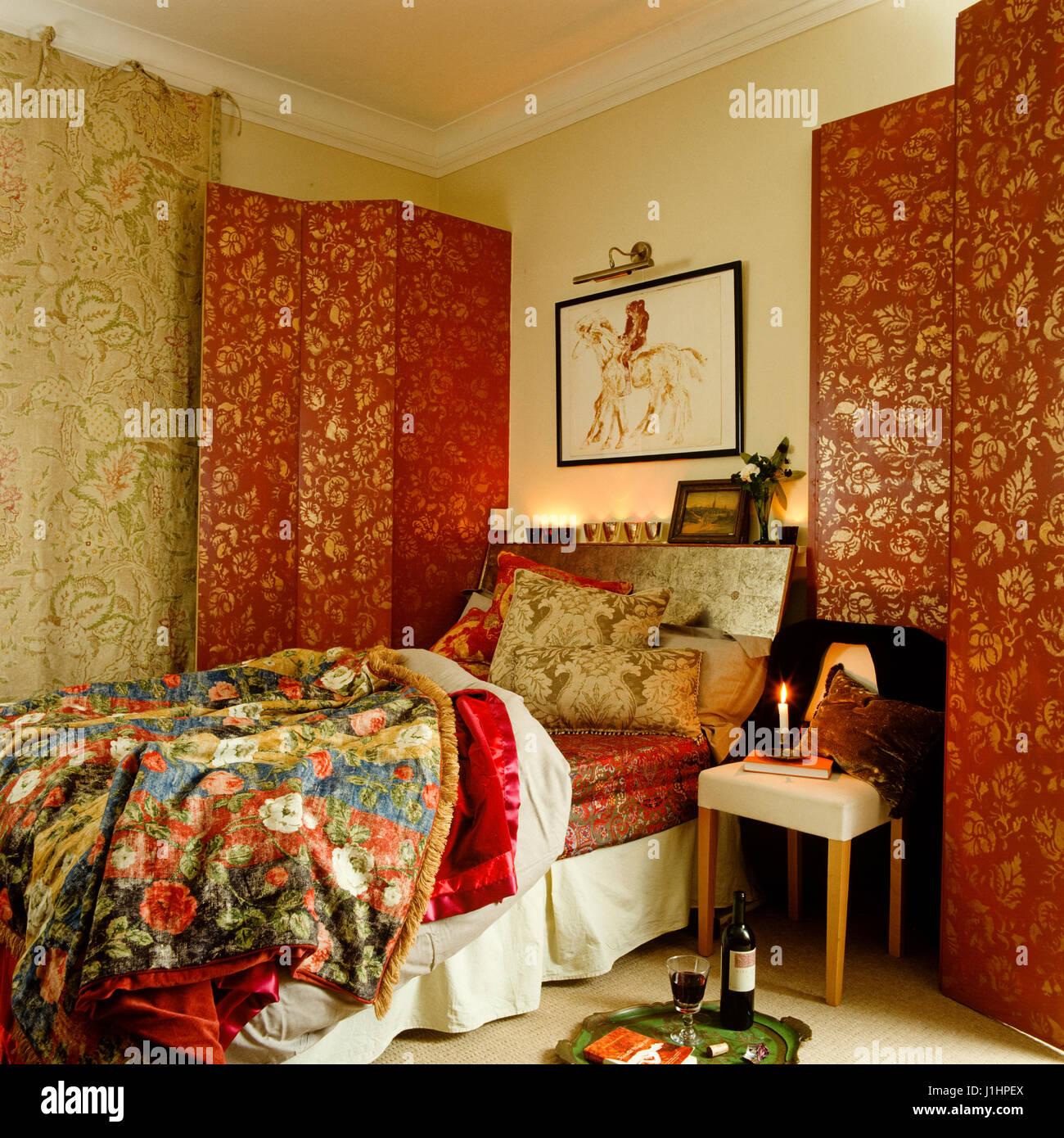 Orientalisches Schlafzimmer Stockfoto, Bild: 138688450 - Alamy