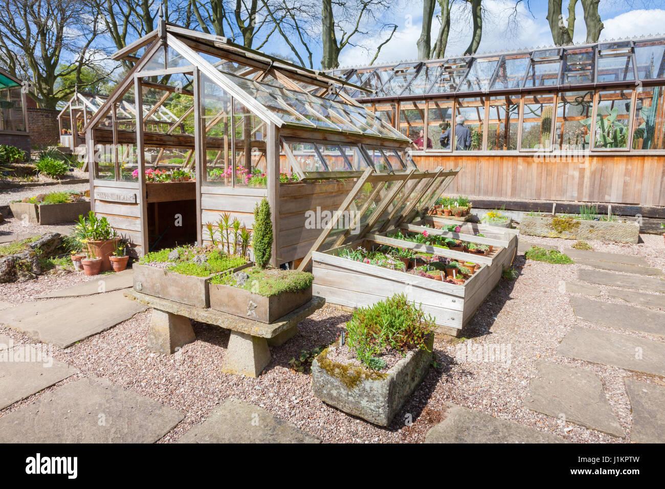 Fachwerk gew chshaus westbourne house birmingham uk garten stockfoto bild 138732633 alamy - Gewachshaus garten ...