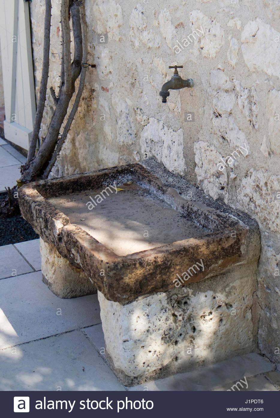 Aussen Waschbecken