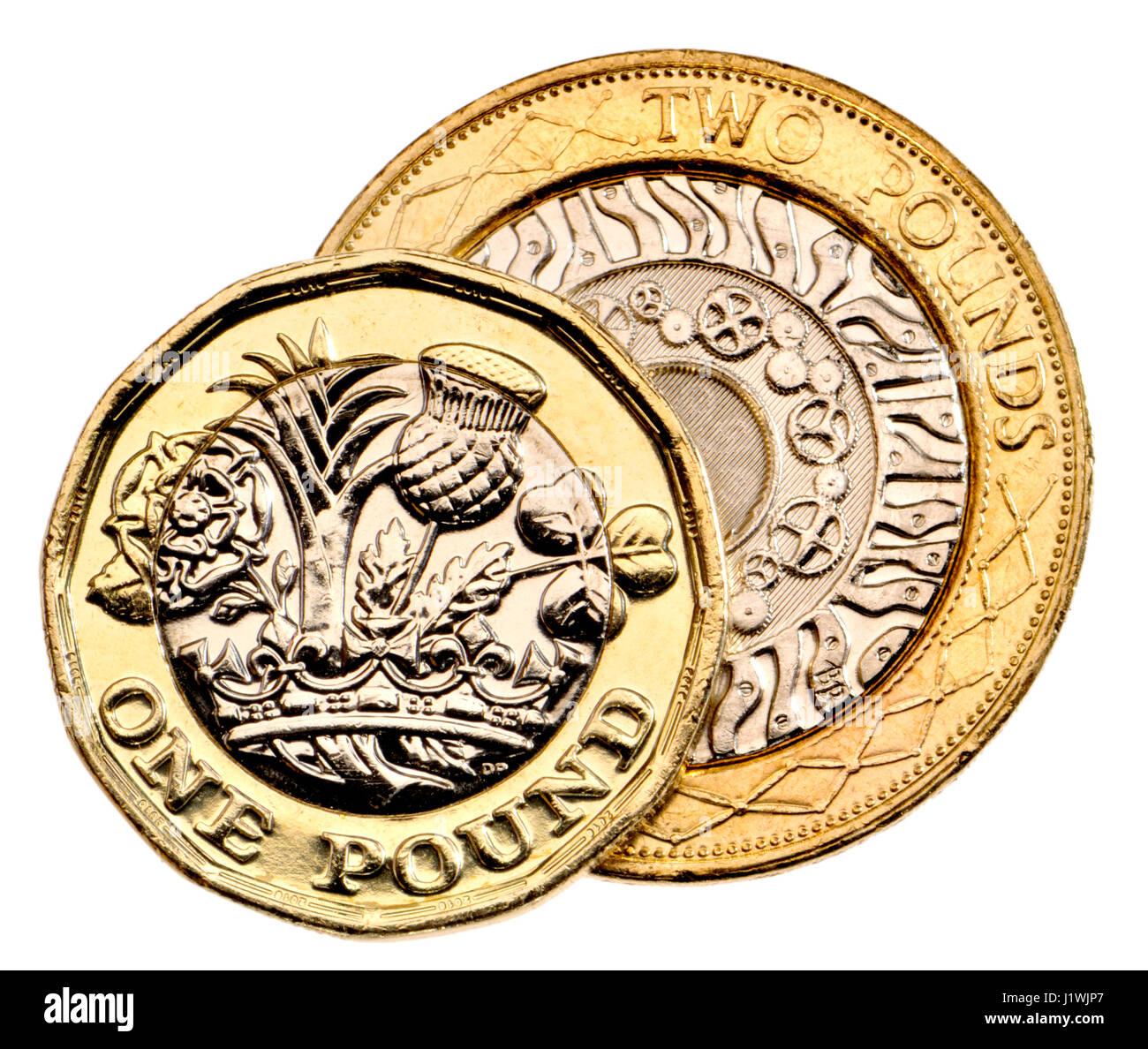 Britische Pfund Münze Zwölf Doppelseitigen Bimetall 2017 Release