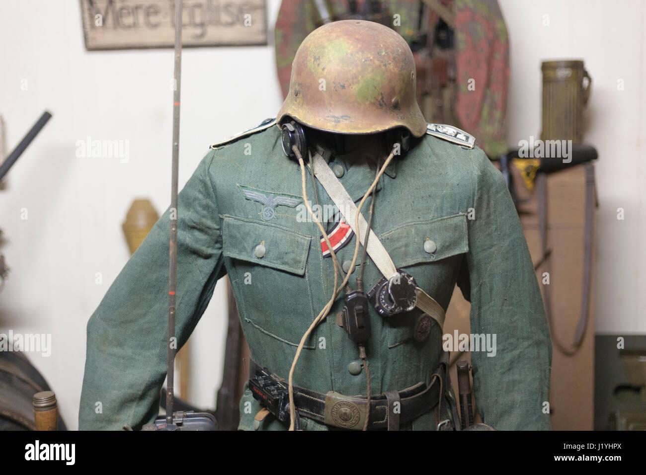 Einheitliche Allemand, Batterie Todt, Musee du Mur de ...