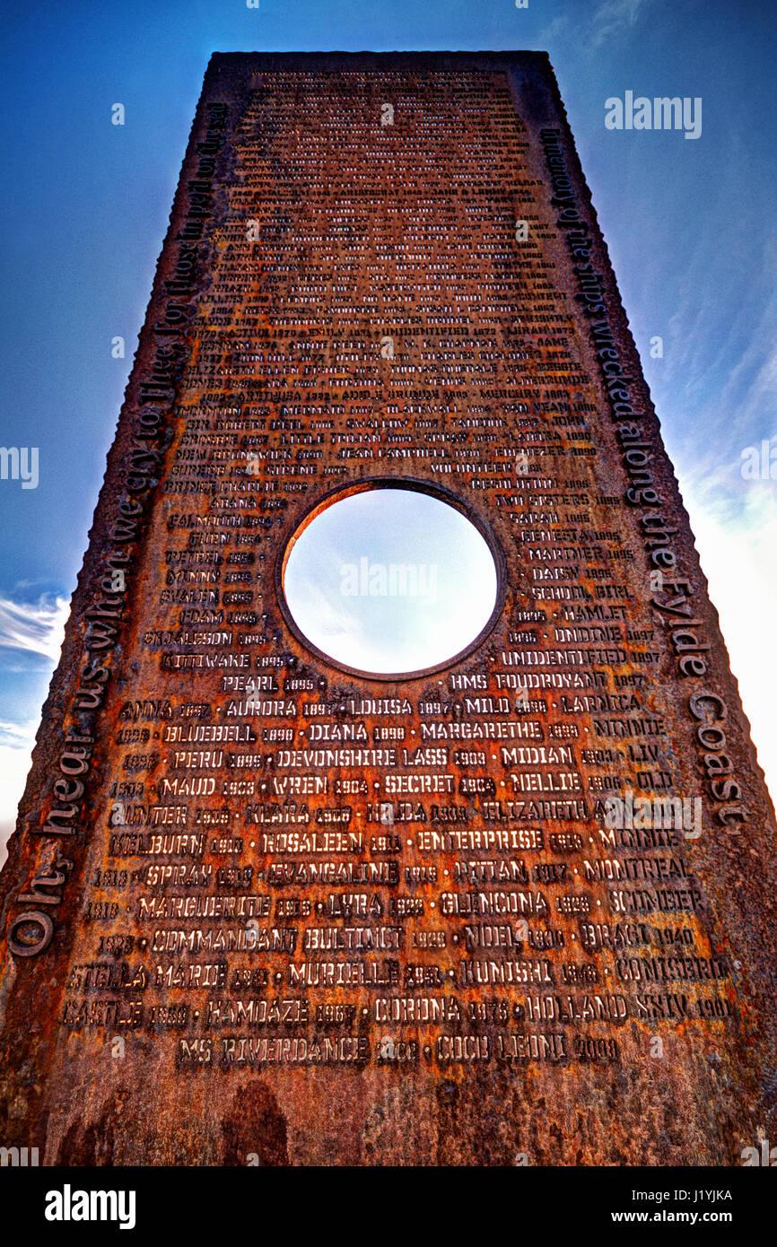 Verlorene Schiffe Memorial Stockbild