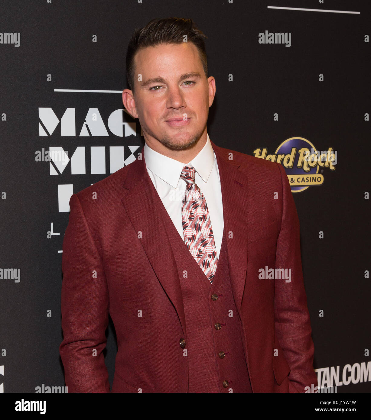 Las Vegas, NV, USA. 21. April 2017. MAGIC MIKE LIVE LAS VEGAS Co-Regisseur und Produzent Channing Tatum am Eröffnungsabend Stockbild