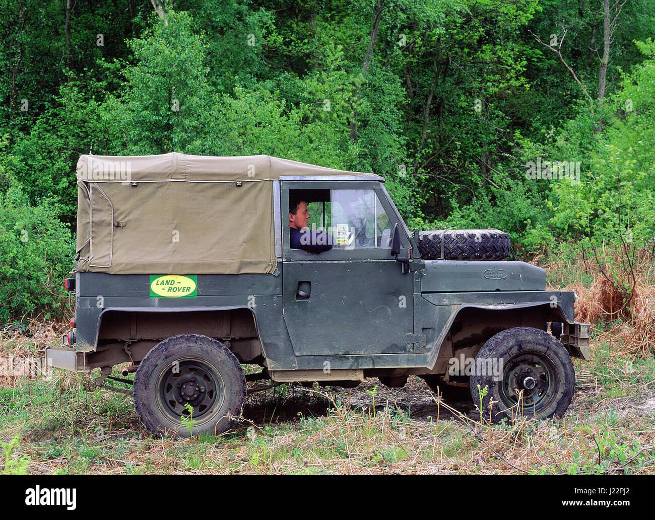 1974 Land Rover militärischen Leichtgewicht Stockbild