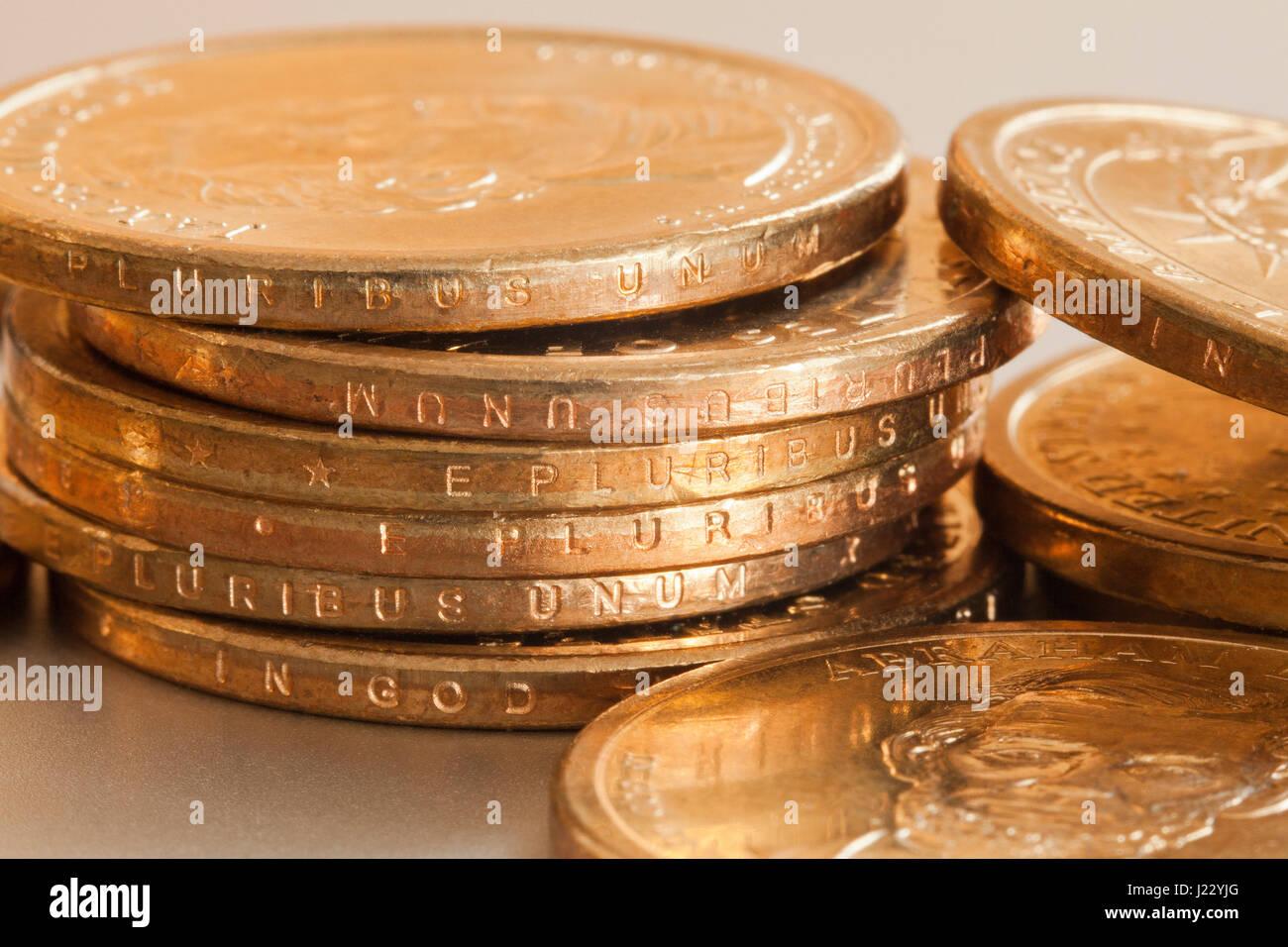 Presidential 1 Dollar Münze Us 1 Münzen Rand Anzeigen Usa