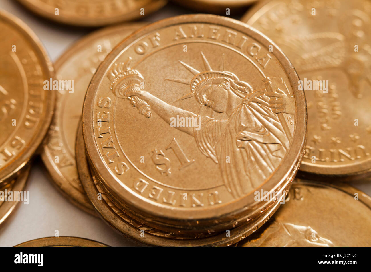 Dollar Münze Stockfotos Dollar Münze Bilder Alamy