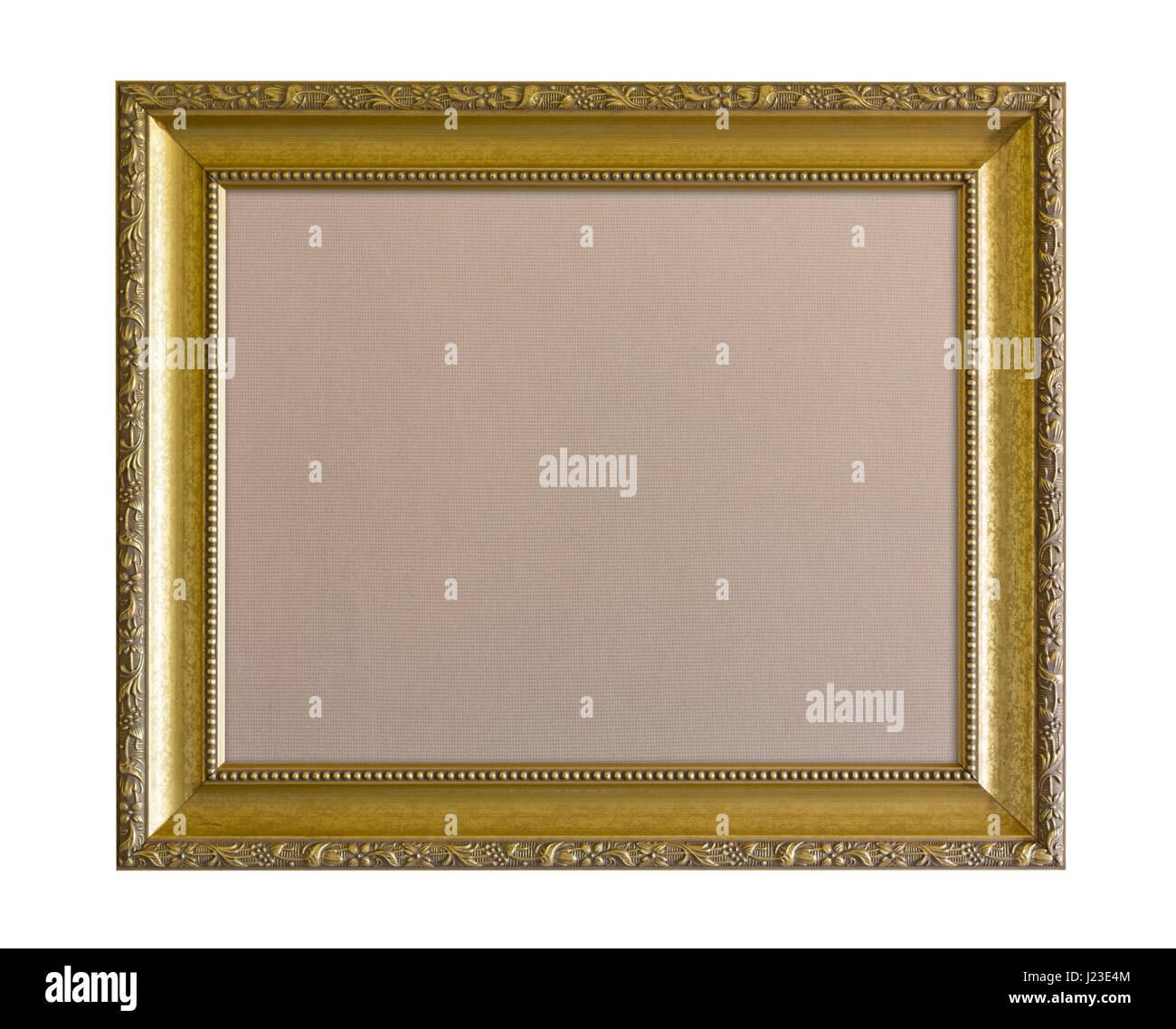 Reich Verzierte Gold Bilderrahmen Stockfoto Bild 138989220 Alamy