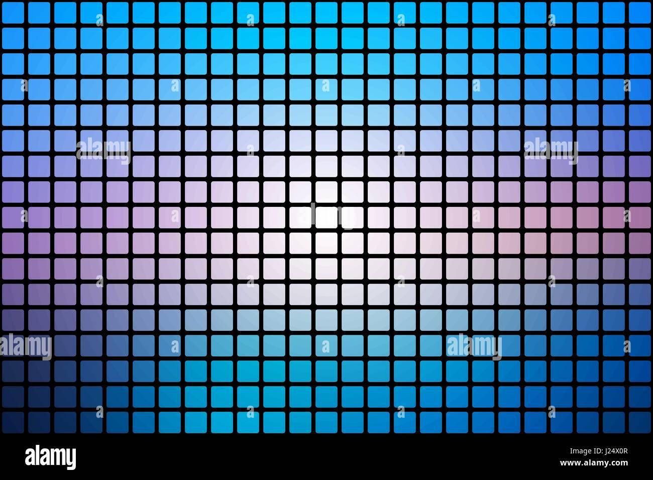 Blaue Farbtone Rosa Vektor Abstrakte Mosaik Hintergrund Mit