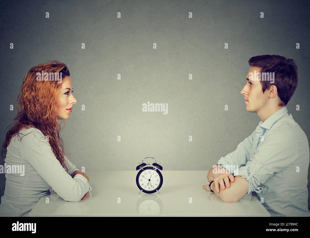 Online-Dating und das dazugehörigen Modell