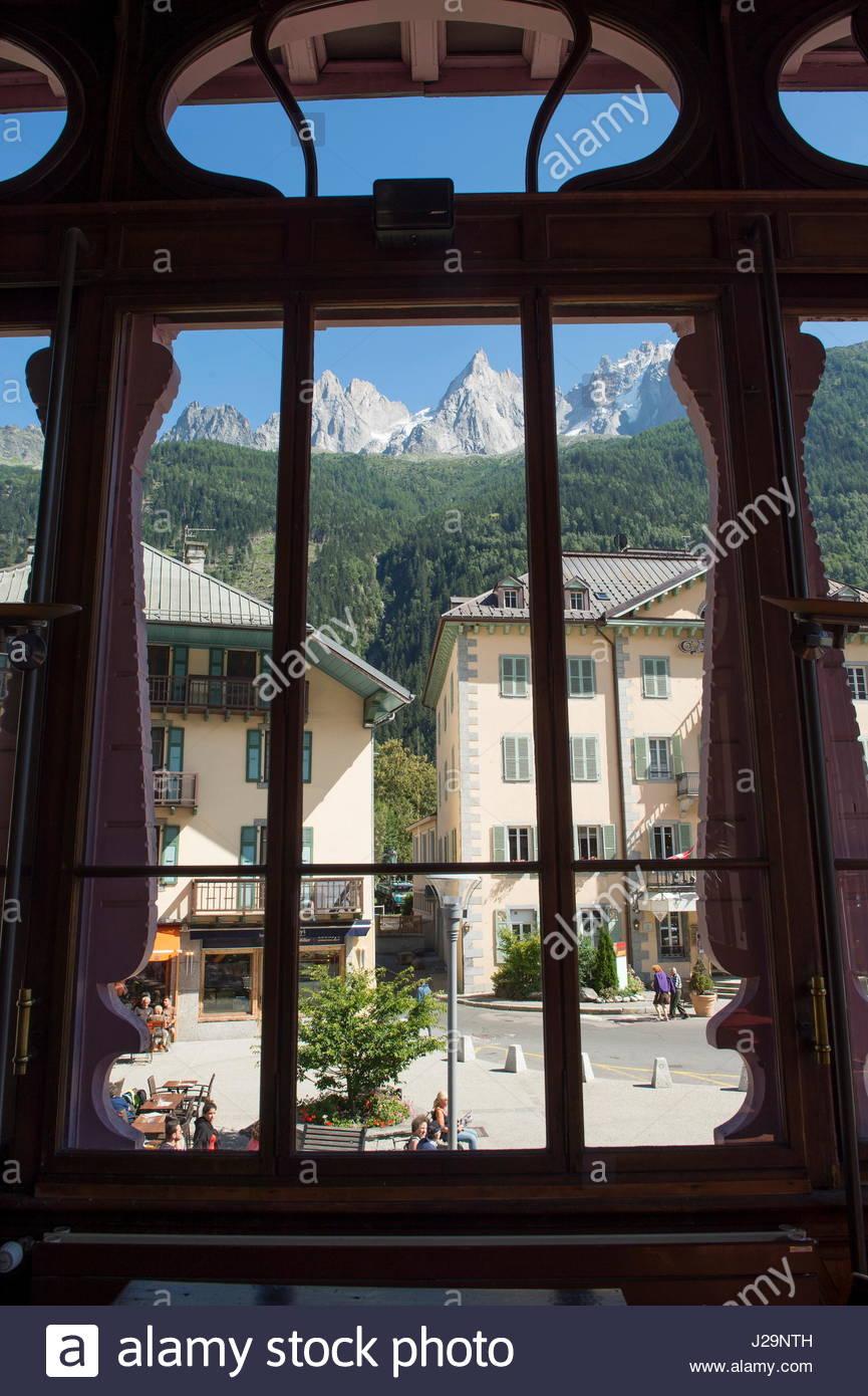 Frankreich Ostfrankreich Alpen Gebirge Des Mont Blanc Chamonix