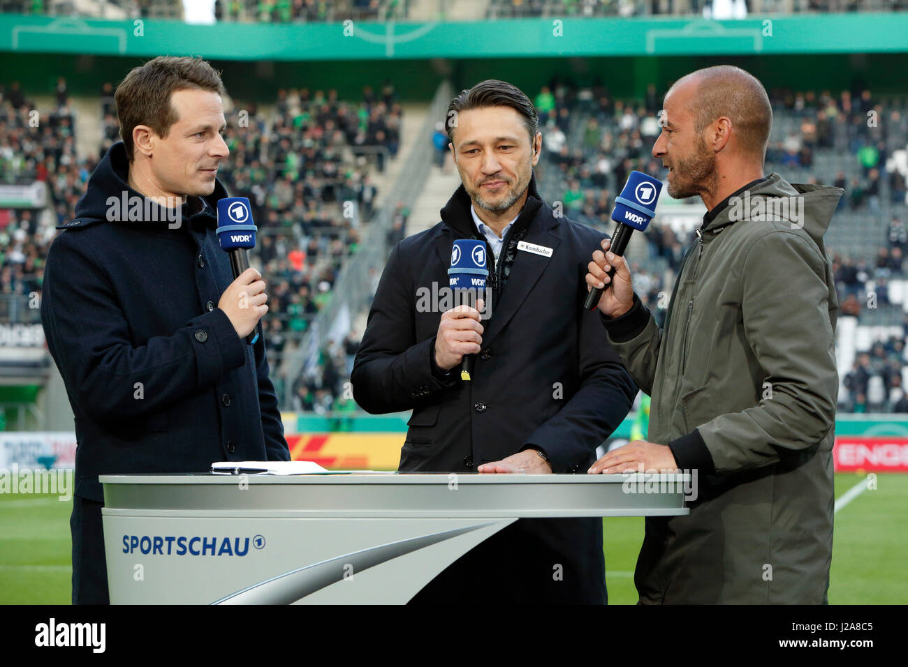 Sport Fussball Dfb Pokal 2016 2017 Runde 5 Halbfinale