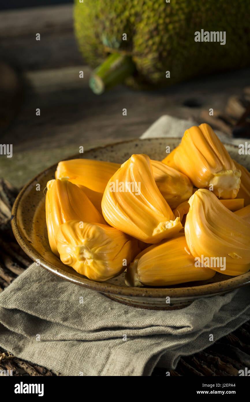 Hausgemachte Bio frische Jackfruit essfertig Stockfoto