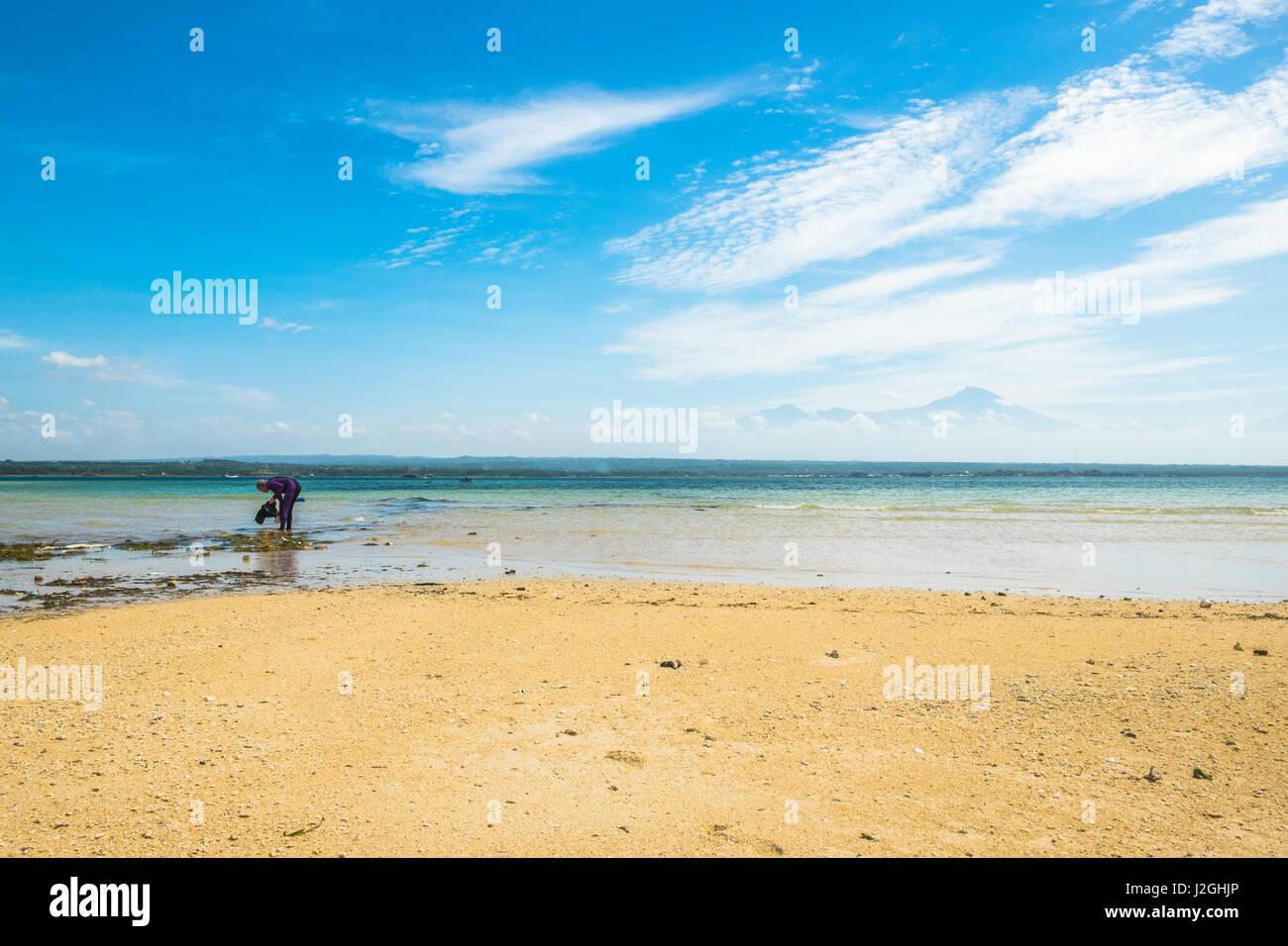 Exotische Inseln in Lombok Indonesien. Stockbild