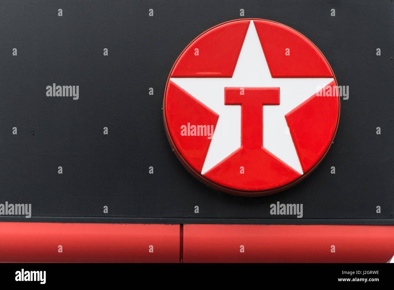 texaco logo stockfotos amp texaco logo bilder alamy
