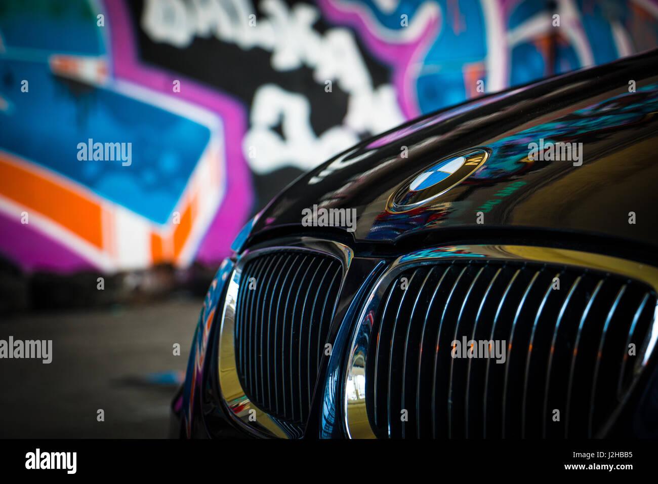 Bmw 3er E92 Wallpaper Hintergrund Full Hd 4k Uhd Monaco Blau