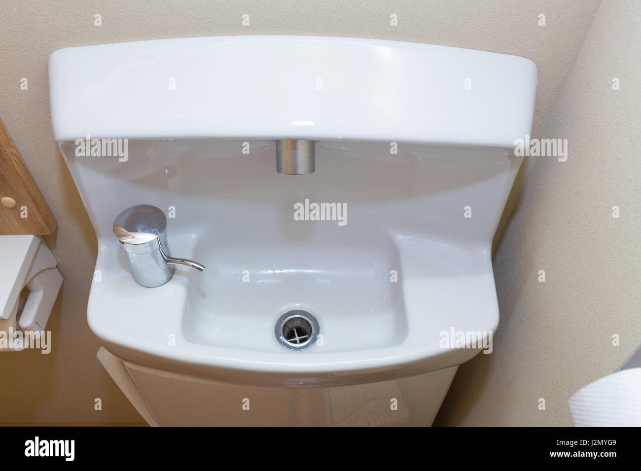 Kleine Kompakte Waschbecken, Japanischen Stil Für Engen Raum Und Ein Kleines  Bad