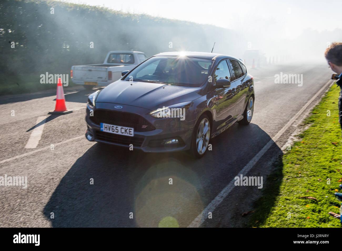 Goodwood Motor Circuit Chichester West Sussex Grobritannien 6 Ford Diagram November 2016 Focus St Grau Fahrzeug In Zum Hot