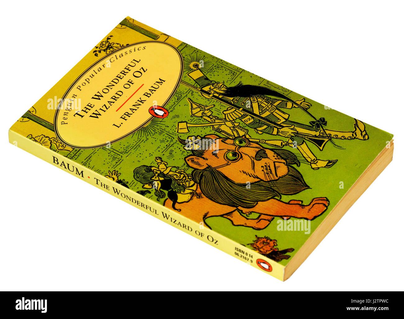 Der wunderbare Zauberer von Oz von L. Frank Baum Stockbild