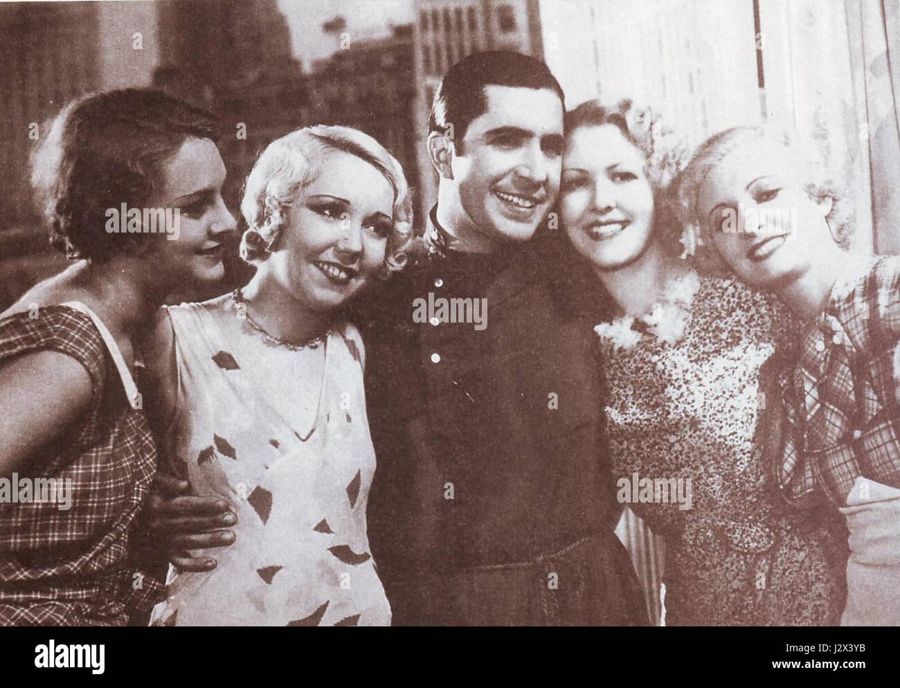 Carlos Gardel Rubias de NewYork Stockbild