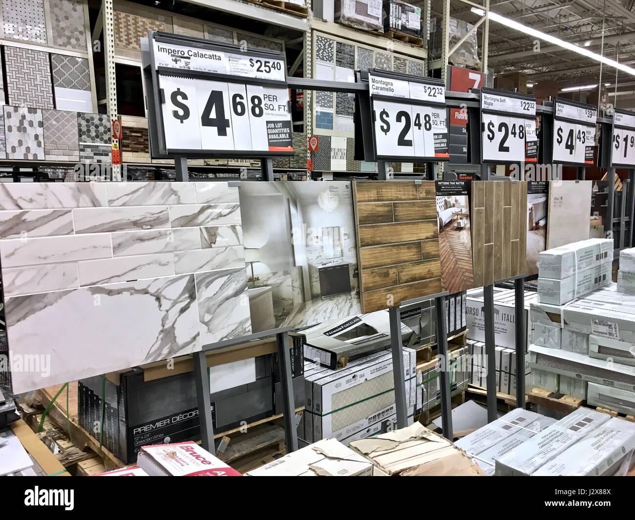 Die Home Depot Bodenbelag Auswahl Fliesen, Hartholz, Laminat Und  Linoleum Boden Preise Anzeigen