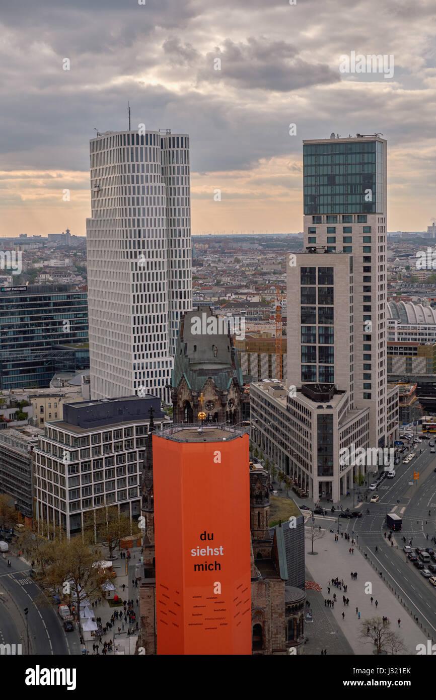 Berlin Deutschland 20 April 2017 Das Hotel Motel One Links