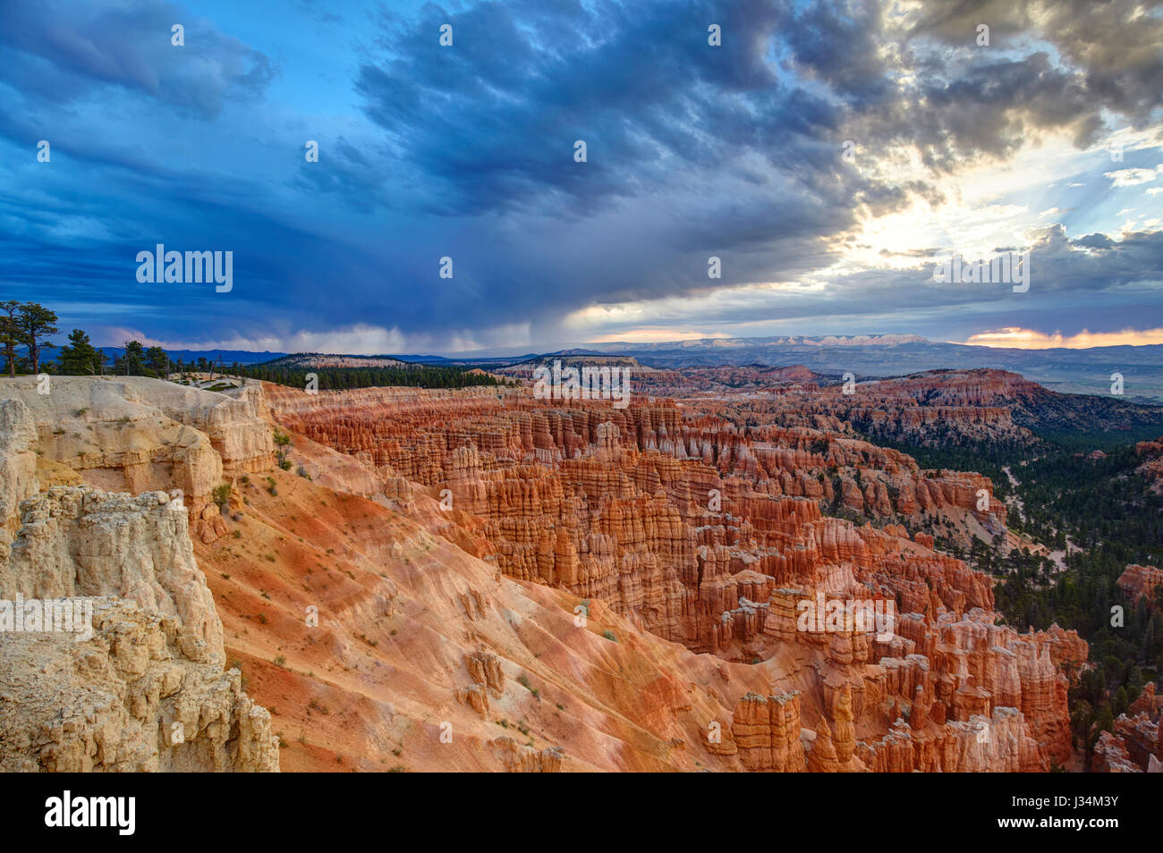 Bryce Canyon, Utah, Vereinigte Staaten von Amerika Stockbild