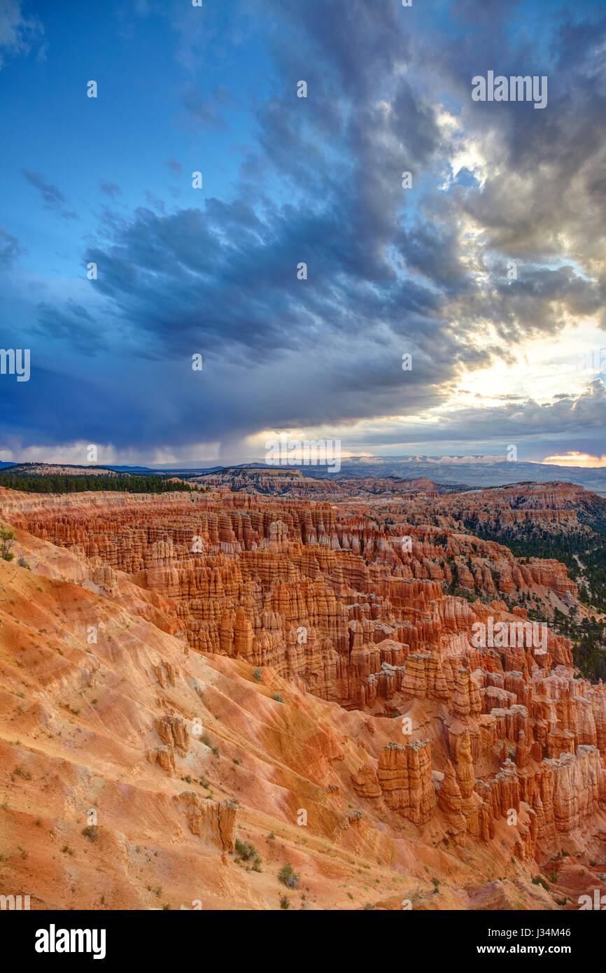 Bryce Canyon, Utah, Vereinigte Staaten von Amerika Stockfoto