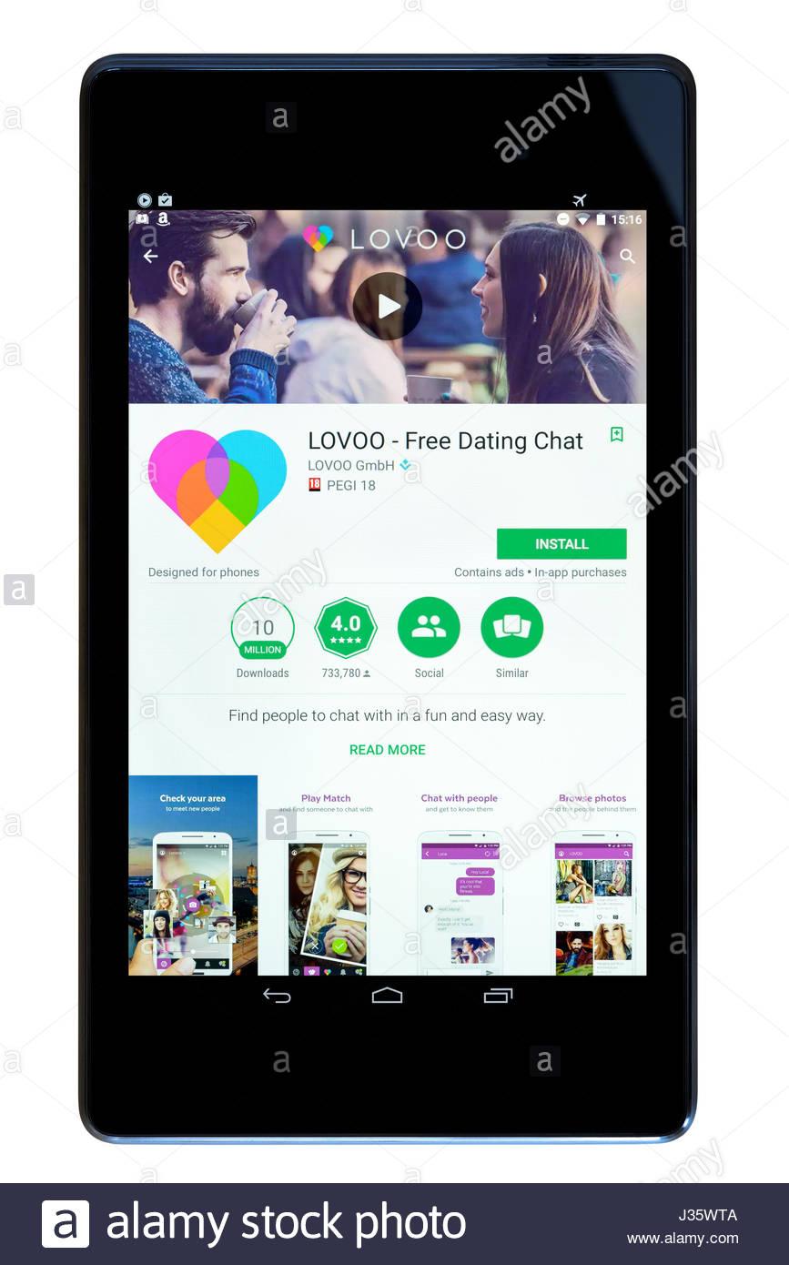 Tinder eine Dating-App