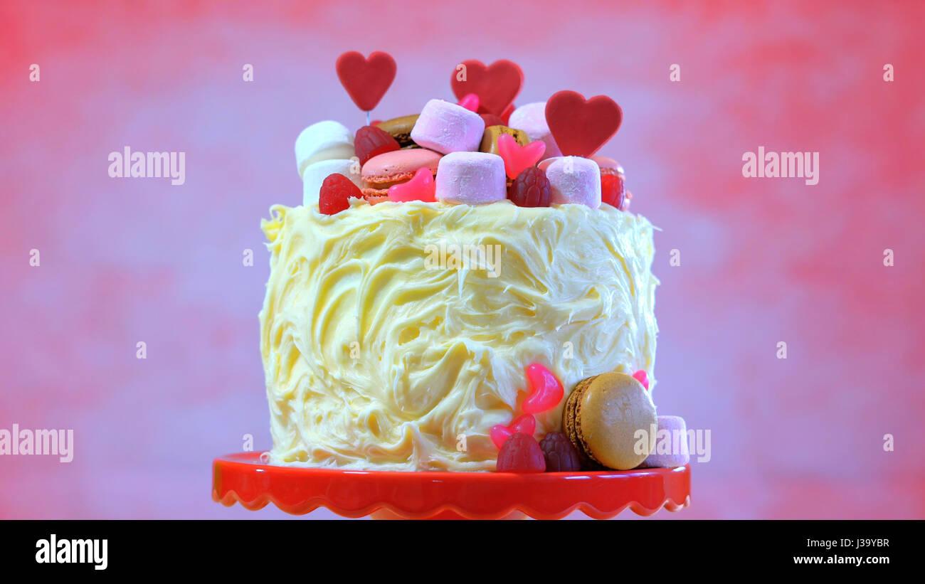 Kuchen Dekorieren Fur Muttertag Valentinstag Hochzeit Oder Feminin