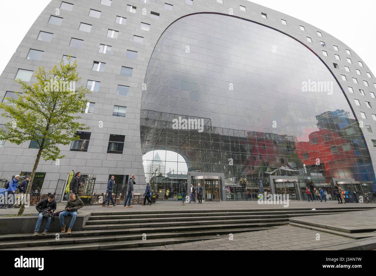Moderne Architektur Mit Monumentalen Und Multifunktionale Gebaude