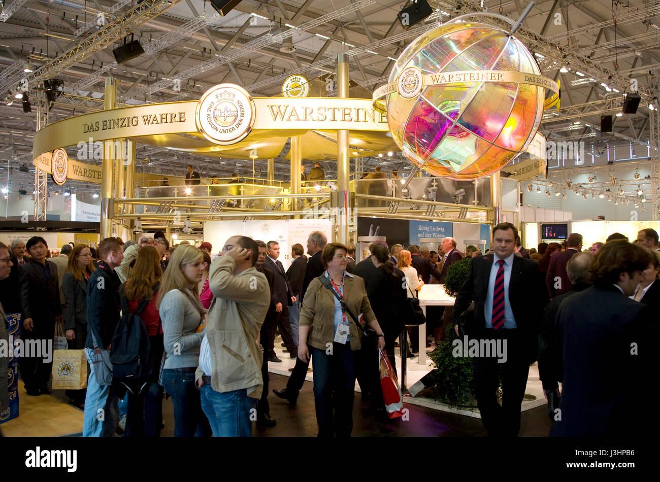 Deutschland, Köln, die ANUGA Speisen und Getränke-Messe auf dem ...
