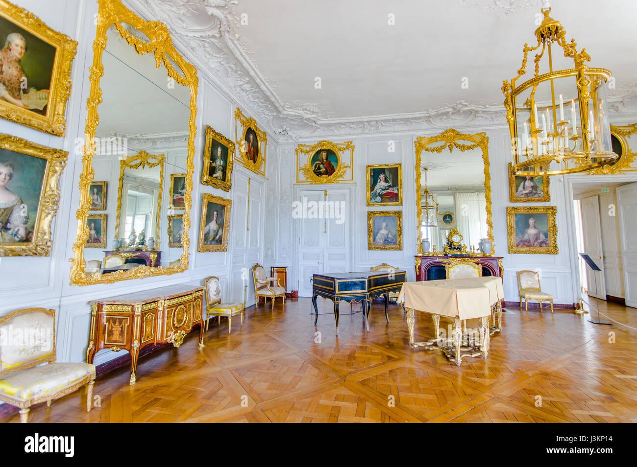 Interiors Palace Versailles Stockfotos & Interiors Palace Versailles ...